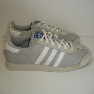 Adidas Samoa Trainer Womens Sz 8 Grey/White